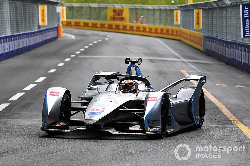 Diaporama : les suisses Buemi et Mortara dans le E-Prix de Berne en Formule E