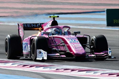 Юбер выиграл вторую гонку Формулы 2 во Франции, Шумахер сошел