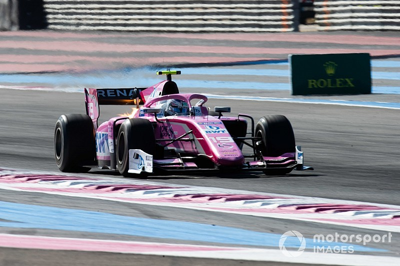 Paul Ricard F2: Hubert leads all-rookie podium in sprint race