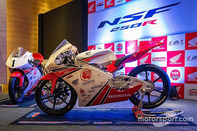 Honda launches Moto3 championship for India