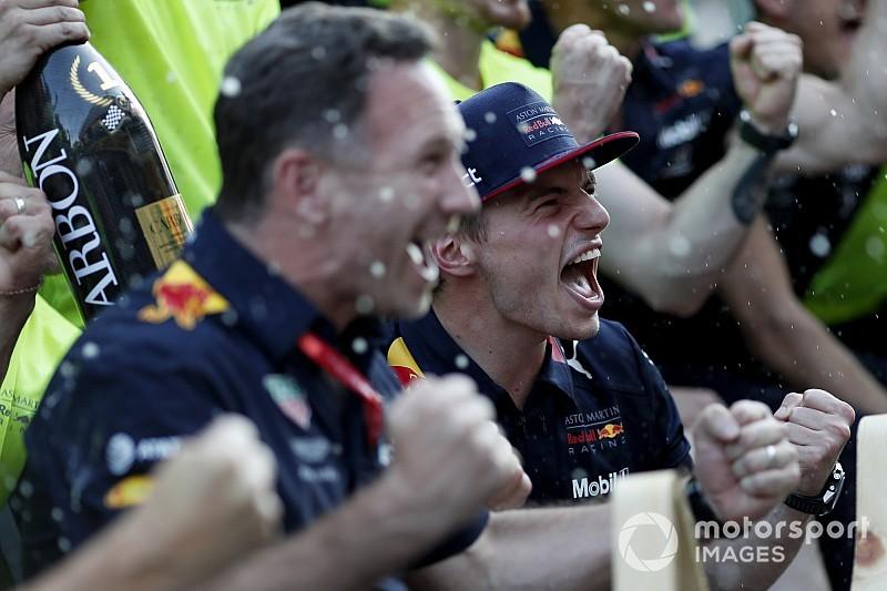 Хорнер назвал Ферстаппена лучшим гонщиком в мире