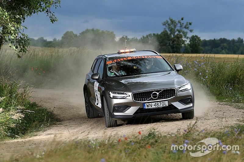 Volvo na trasie Rajdu Polski