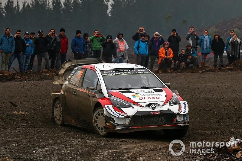 WRC, Rally del Cile, PS1: Latvala e Meeke al top. Mikkelsen centra una roccia