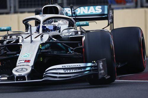 Bottas et Mercedes ont profité de la chute des températures