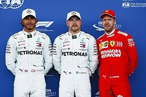 Starting grid F1 GP Azerbaijan
