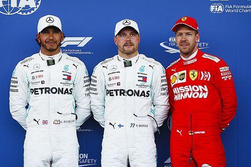 La parrilla de salida del GP de Azerbaiyán de F1