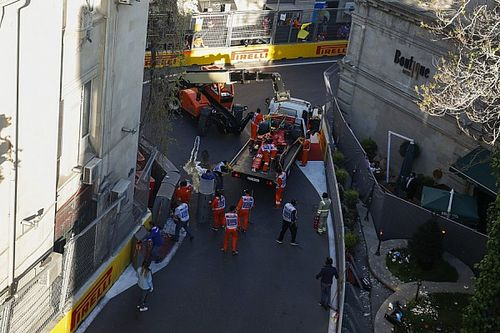 Ecco il video del clamoroso incidente di Charles Leclerc nella Q2 di Baku