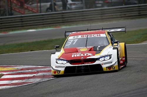 Zolder DTM: Van der Linde scores maiden pole in red-flagged qualifying