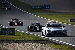 """Verstappen critica la safety car: """"Troppo a lungo in pista"""""""
