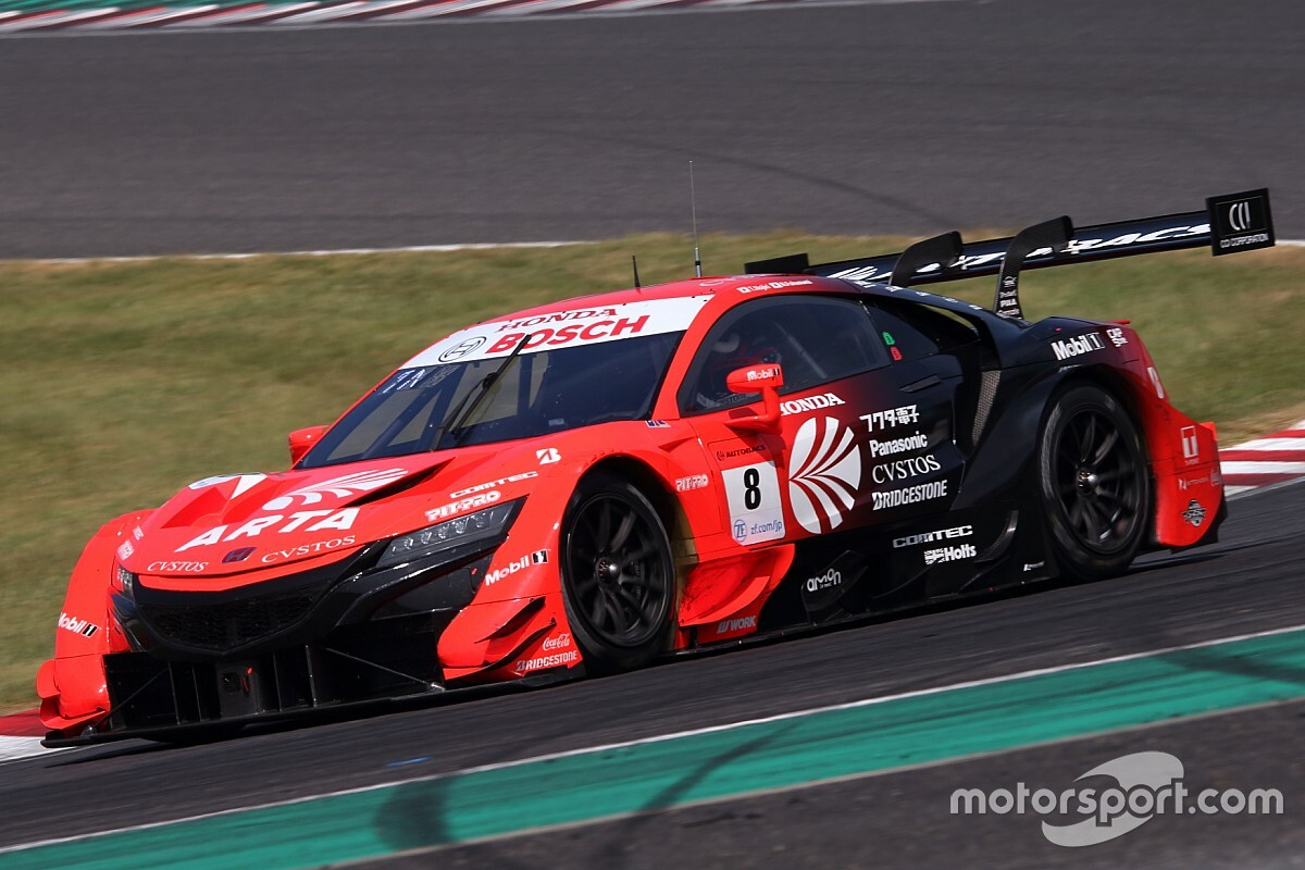 Suzuka Super GT: ARTA Honda gets third pole of 2020