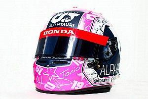 F1: Pierre Gasly a Spa con un casco dedica ad Anthoine Hubert