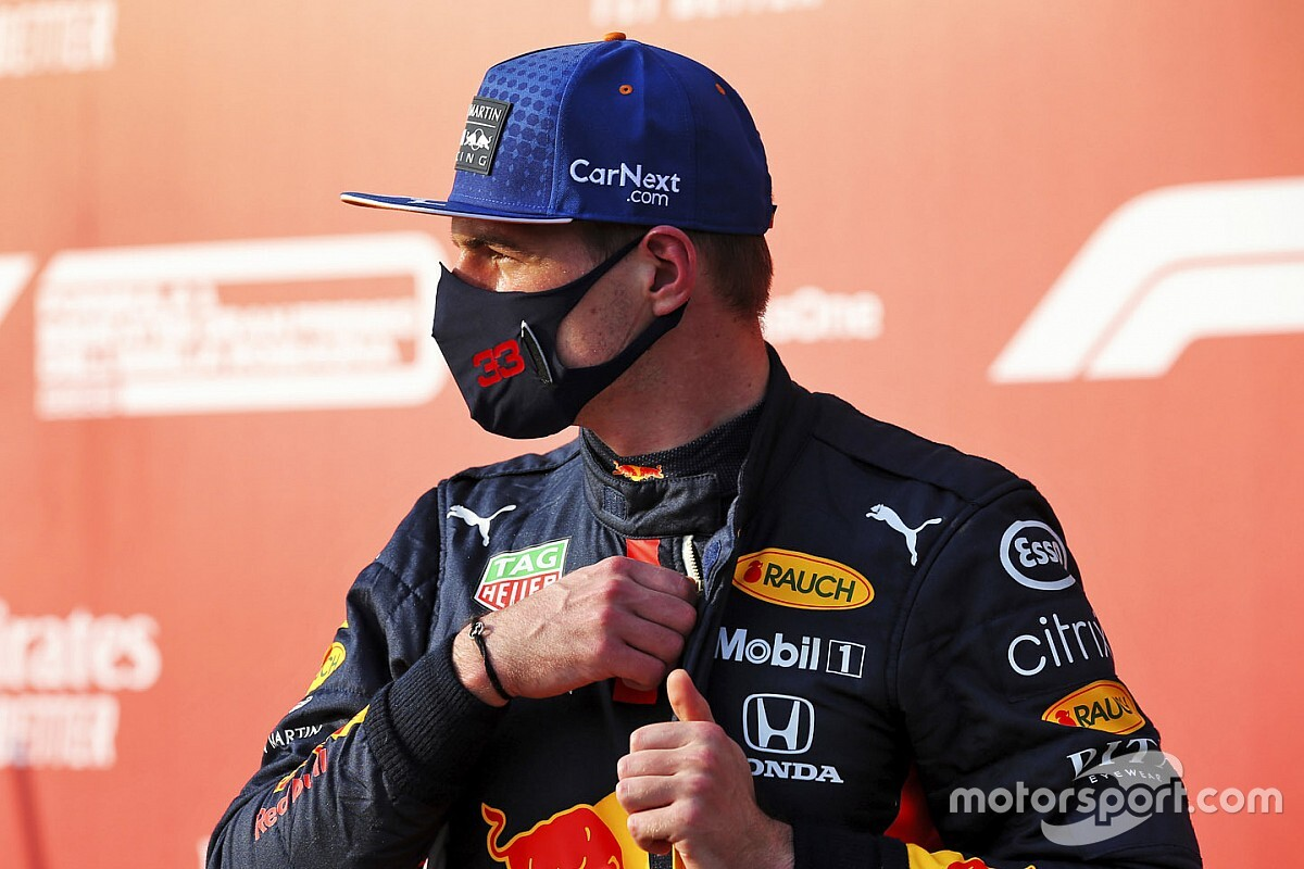 Verstappen prefers 'head to fall off' from Turn 8 forces
