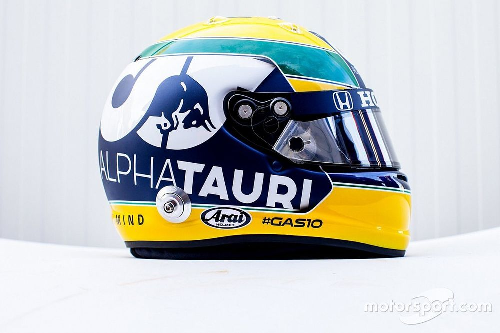 Gasly to run Senna tribute helmet at Imola