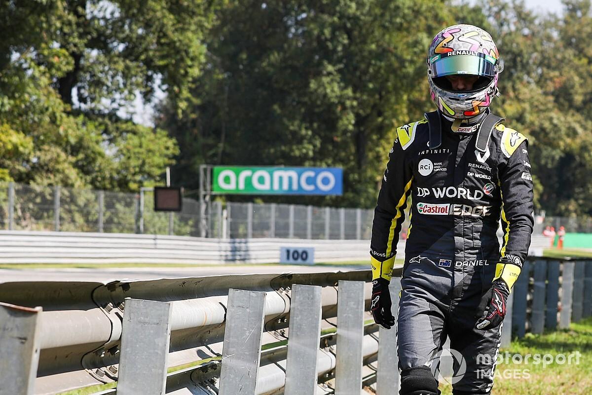 Ricciardónak most nem sikerült a bravúr