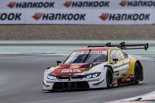 Assen DTM: BMW's van der Linde takes shock win in wet Race 2