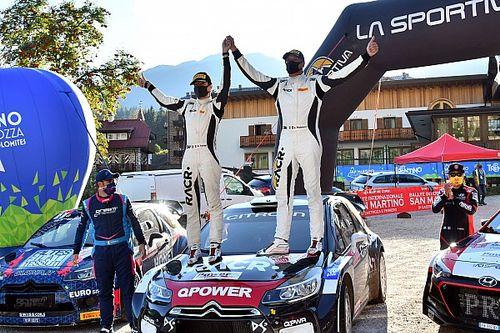 CIWRC: Pedersoli-Tomasi vincono il Rally San Martino di Castrozza