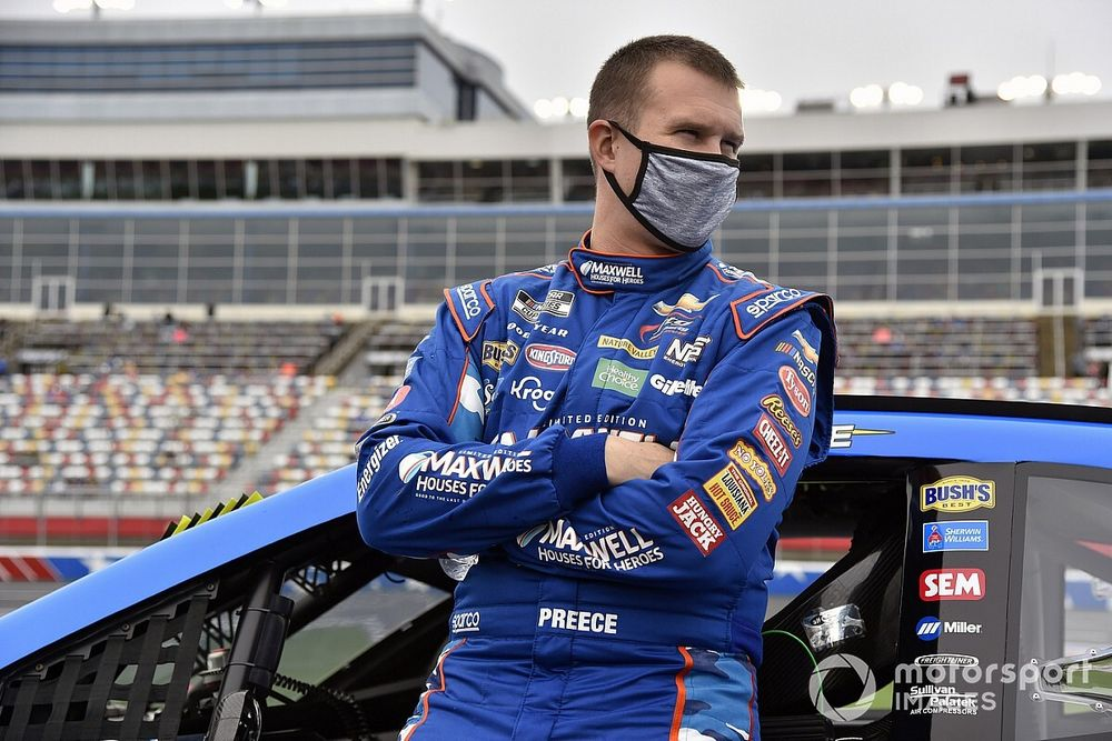Preece 'not stressed at all' about qualifying for Daytona 500