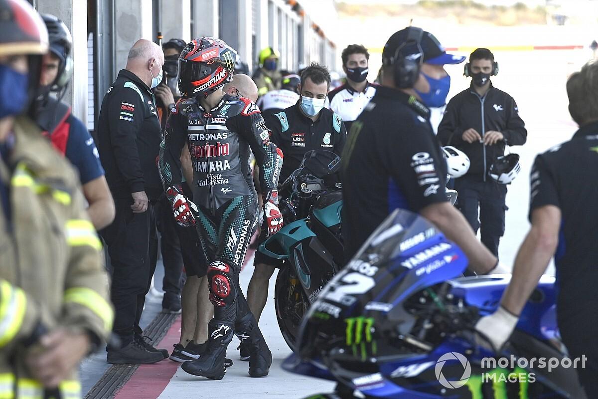 Quartararo mist 'twee of drie tienden' voor winst in Teruel GP