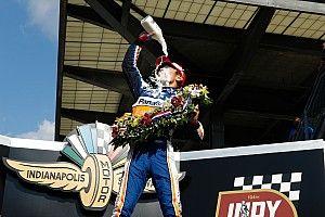 """Sato elismerte, hogy """"nagyon, nagyon közel"""" volt ahhoz, hogy kifogyjon az Indy 500 végén"""