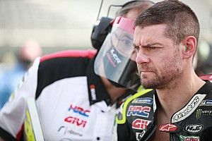 Crutchlow suffered broken shoulder ligament at Aragon