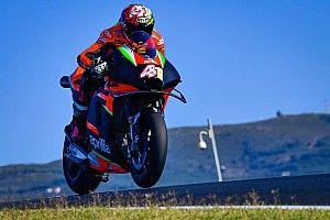 Aleix Espargaró lidera el test en Portimao; Lorenzo, último a cuatro segundos