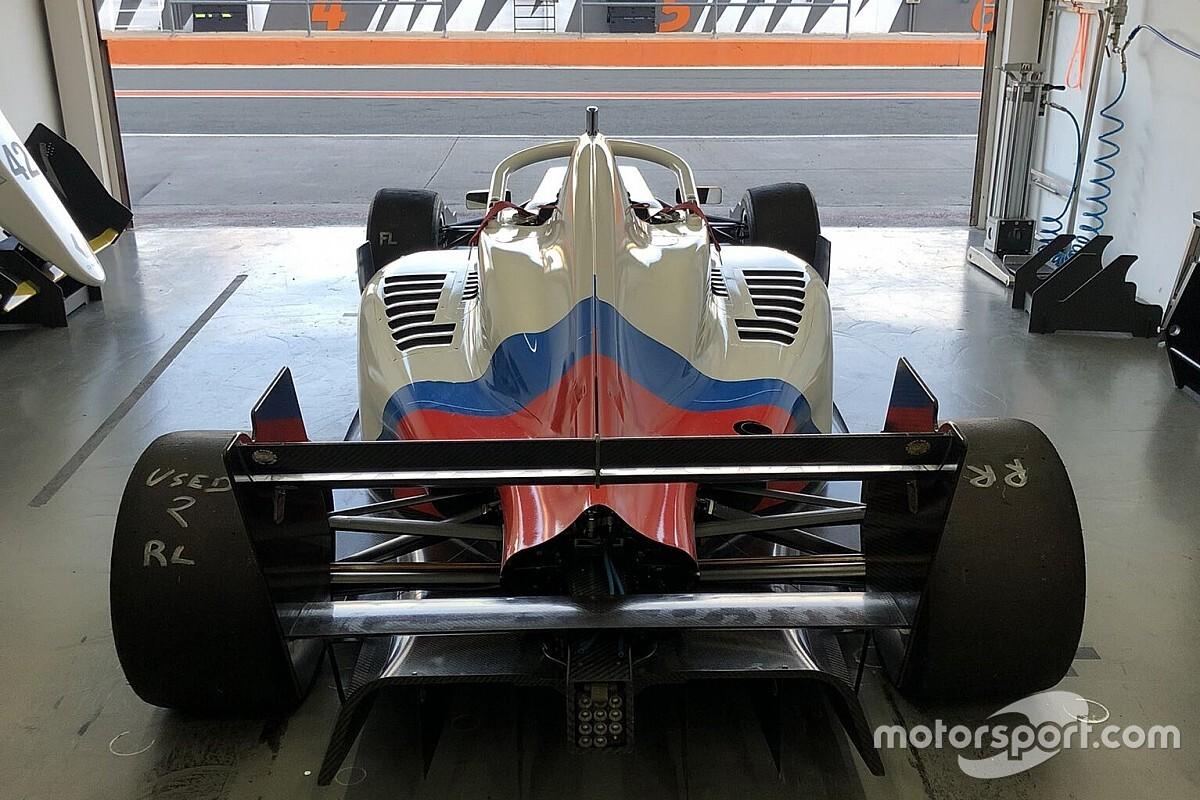 Cem Bölükbaşı, Formula Regional F3 aracıyla teste çıktı
