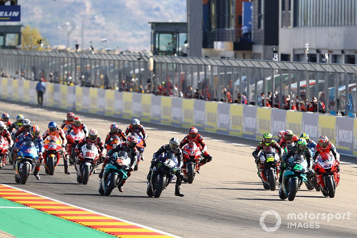 MotoGP Aragon 2020: Die animierte Rundentabelle