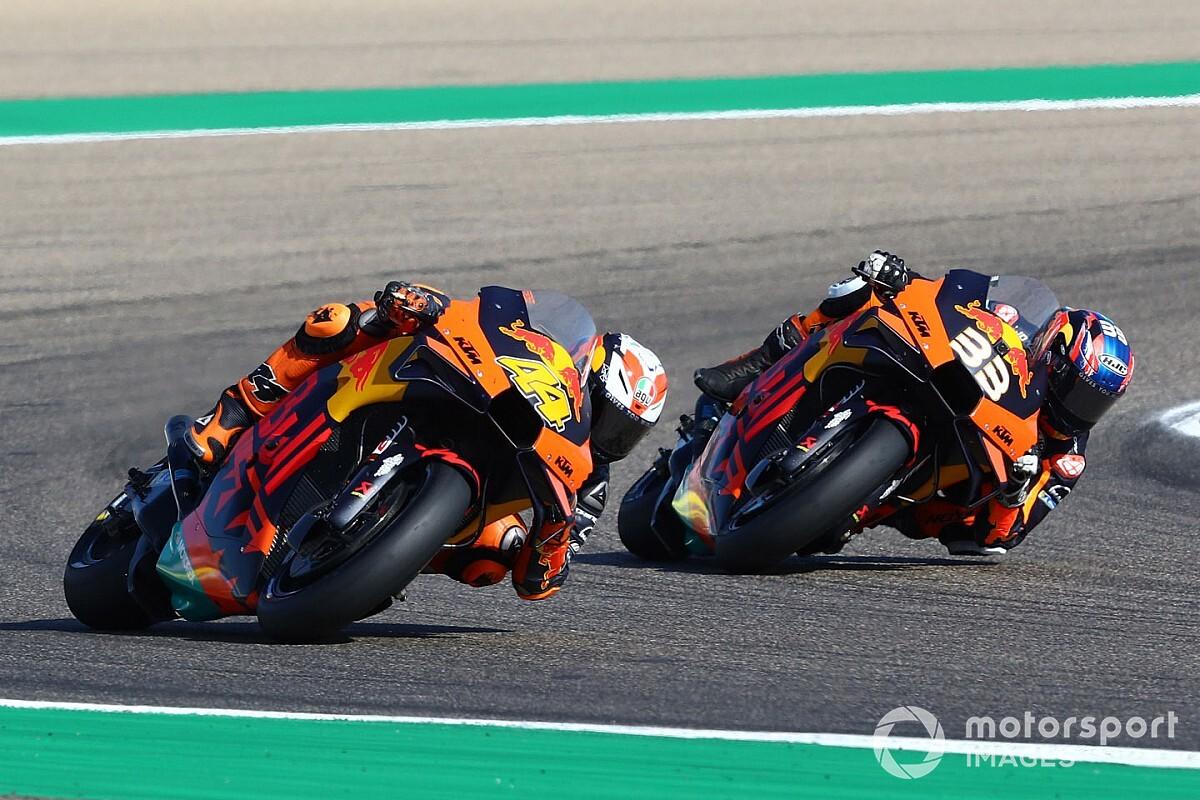 """Un premier Grand Prix """"douloureux"""" en Aragón pour les KTM"""