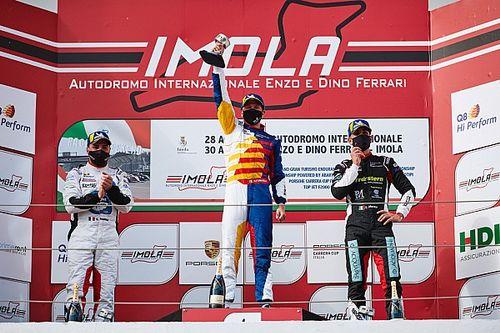"""Carrera Cup Italia, Imola: Fumanelli diventa """"hi perform"""" e ora """"tutto è in gioco"""""""