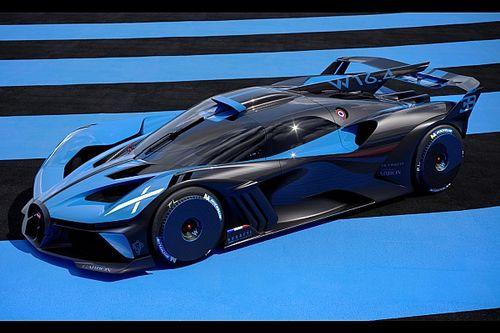 Bugatti Bolide: un hiperdeportivo extremo ¡con 1.850 CV!