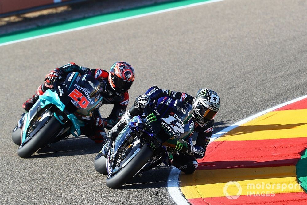 MotoGP: Viñales supera Quartararo nos treinos de sexta em Aragón