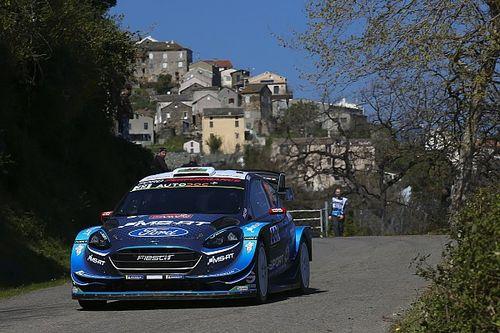 Corsica WRC: Meeke run-in costs Evans lead