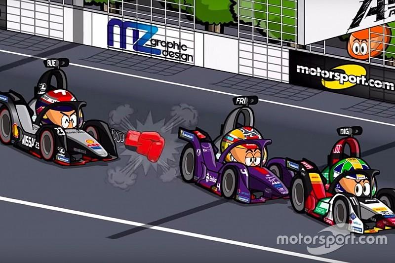 Vídeo: el ePrix de Sanya de Fórmula E, por MinEDrivers