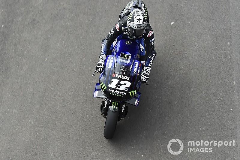 MotoGP, Le Mans, Libere 3: Vinales e Marquez brillano anche sul bagnato
