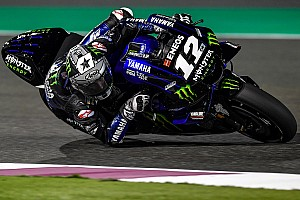 Vinales tops first day of Qatar test, Marquez crashes