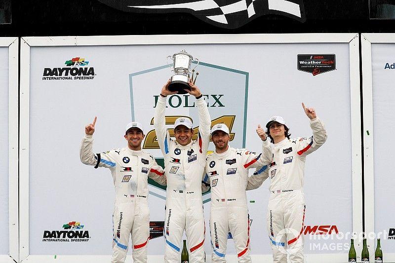 BMW dedicates Rolex 24 GTLM triumph to Lamm