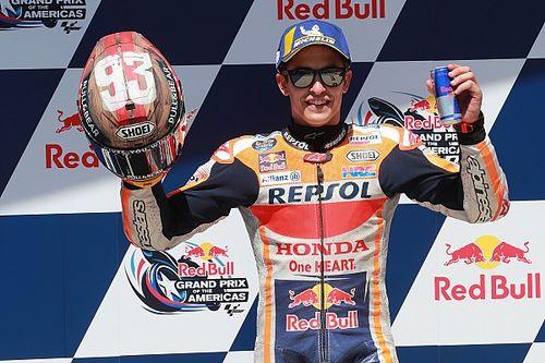 Austin MotoGP: Marquez on pole, Dovizioso out in Q1