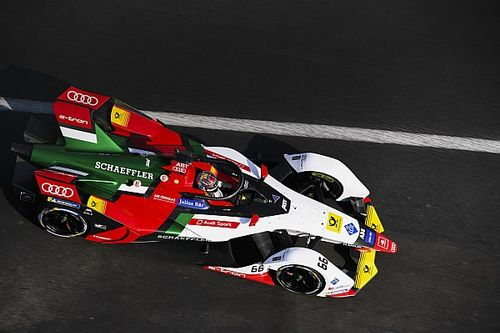 Mexico City ePrix 1. antrenman: Abt lider, Mortara ikinci