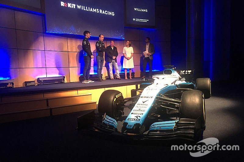 Williams cancela dia de filmagens com novo carro