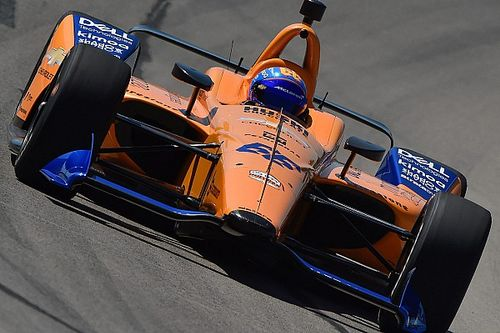 Vídeo: sigue en directo el primer test de Alonso para la Indy 500 2019