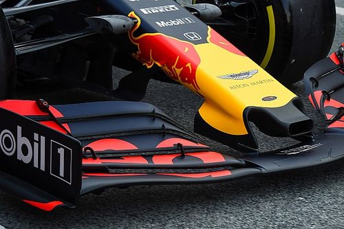A Red Bull nem aggódik a Ferrari/Alfa Romeo radikális első szárnya miatt