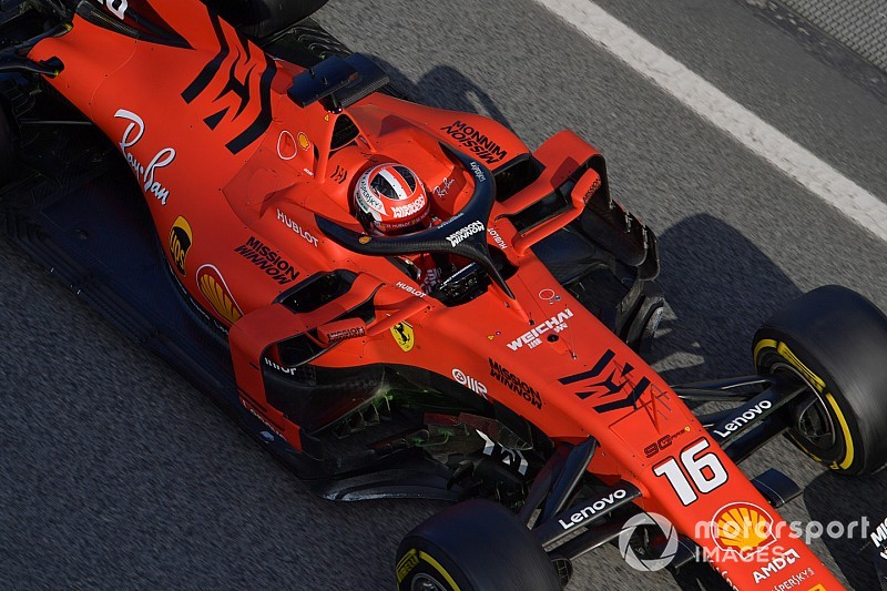 Barcelona Test Day 2: Leclerc continues Ferrari's grip of top spot