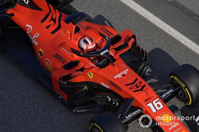 Leclerc manda en el segundo día de test