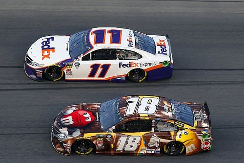"""Kyle Busch laments 500 loss, but admits JGR win is """"what matters"""""""