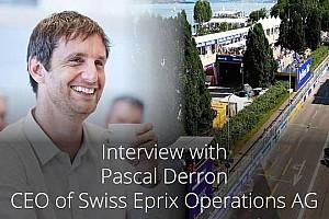 """Pascal Derron : la Formule E en Suisse, """"un engagement sur le long terme"""""""
