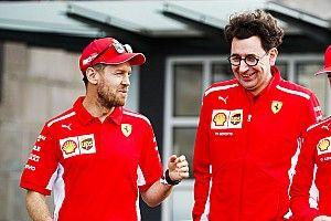 Бинотто вновь назвал Феттеля лидером Ferrari