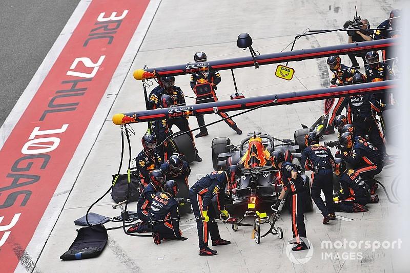 Red Bull, Çin GP'de de en hızlı pit stopu yaptı
