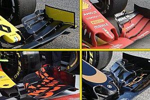 """Galería: así han adaptado los equipos de F1 sus alerones delanteros y """"morros"""""""