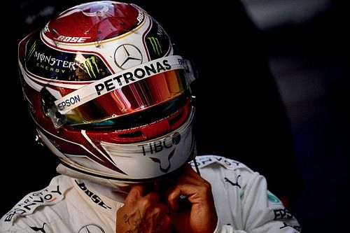 Monster trabalha para promover 'troca de papéis' entre Hamilton e Rossi