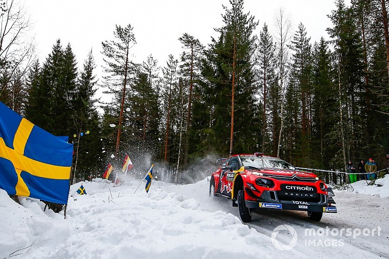 "Ogier has ""nothing to play for"" after Sweden crash"